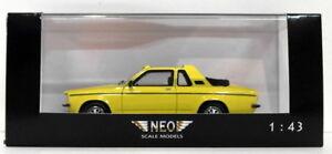 NEO 1/43 Scale Resin Model NEO43078 - Opel Kadett Aero 1 Of 300 - Yellow