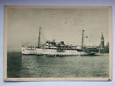 NAVE LAZZARO MOCENIGO Adriatica Navigazione LLoyd Ship vecchia cartolina