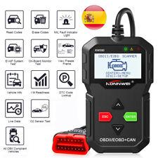 KW590 coche OBD2 EOBD OBDII Lector De Código De Fallas puede diagnóstico escáner