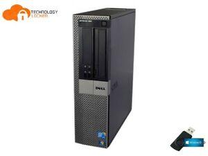 Dell Optiplex 980 DT Desktop PC Intel i7-860 @2.80GHz 8GB RAM 2TB HDD Win 10