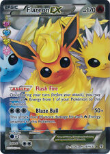 Pokemon: 1x Flareon-EX - RC28/32 - Full Art Ultra Rare - NM-Mint Generations