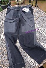 Zara Patchwork Jeans Black Mid Waist M Medium 10  New