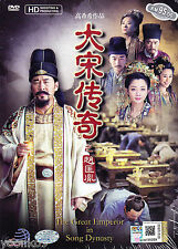 DVD Chinese Drama The Great Emperor In Song Dynasty TV 1-48 End English Sub PAL