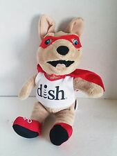 Super Joey Dog Plush Dish Network Advertising Promo Stuff Animal 10""