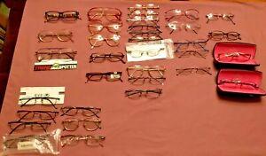 NOS Designer Eyewear Glasses Sunglasses Demos RayBan babyPhat Lacoste Gant Lot