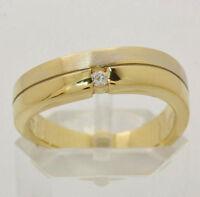 ♦♦375 9kt Gelbgold Damen Ring mit Zirkonia in Gold Zirkoniaring Schmuck Stein♦♦
