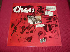 Nocturnal Emissions: Chaos   1983 live  LP