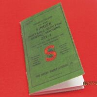 SINGER Featherweight 221 221-1 221-K  222 Instruction Book Manual