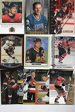 10-daniel alfredsson ottawa senators card lot #2 nice mix