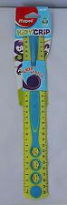 Maped Helix Kidy Grip Ruler Soft Grip- Kiddy Grip Handle- Ideal Dyspraxia -Yell
