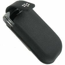 New Genuine OEM BlackBerry Torch 9800 Vertical Holster Leather Pouch CASE w Clip