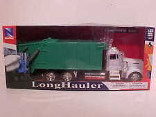 Recycle Collector Garbage Trash Truck Kenworth W900 Die-cast 1:32 Newray 12 inch