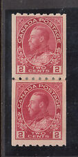 Canada #124i VF Mint Paste Up Pair