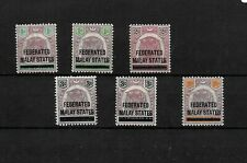 Federated Malay States, 1900 optd stamps from Negri Sembilan LMM (M438)