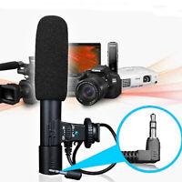 DSLR Camera Interview Microphone Video Audio Recording Mic for Canon Nikon