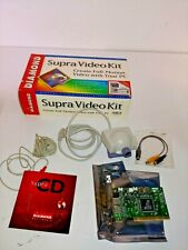 Vintage Diamond Multimedia Supra Video Kit for PC with Camera, Video Card and CD