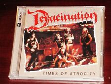 Deracination: Times Of Atrocity 2 CD Set 2017 Dark Symphonies USA DARK-97 NEW