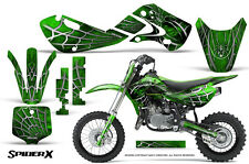 KAWASAKI KLX110 02-09 KX65 00-12 GRAPHICS KIT CREATORX DECALS STICKERS SXG