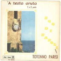 """Dr Parisi Vinyle 45 Tours 7 """" - 'A Tête Aruta - Neuf"""