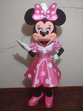 Disfraz ( costume, botargas, mascot) HERMOSA MINNIE PINK DELUXE TRAJE ADULTO
