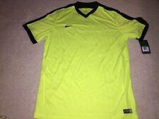New Nike Men's Dri-Fit Striker Iv Soccer Jersey. Size Xl, Neon Yellow, Volt