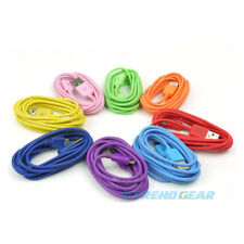 8-COLOR 6FT MICRO USB DATA SYNC POWER CHARGER CABLE SAMSUNG GALAXY S3 NOTE RAZR