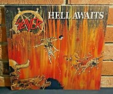 * SLAYER - Hell Awaits, Limited ORANGE COLORED VINYL LP New & Sealed! Bend!