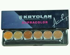 Kryolan Supracolor Professional Concelaer Pallete - 6 shades