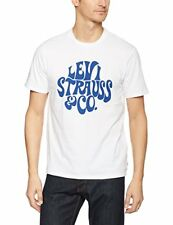 Levi's Graphic Set-in Neck 2 Homme Blanc (bi Lsco White) X-large