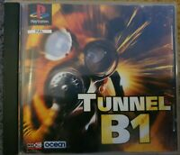 Tunnel B1 Sony PlayStation 1 PS1 PSOne PAL - not offical Case.