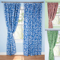 Pixel Ready Made Thermal Blackout Curtains / Duvet Cover Bedding Set Mining Game