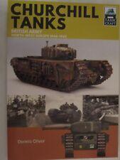 Book: Churchill Tanks - British Army, North-west Europe 1944-45