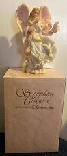 "Seraphim Classics Angel Figurine by Roman ""Heaven's Rose"" 1997 #78123 Diana"