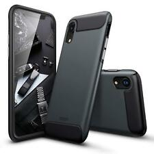 iPhone XR Case Shockproof Bumper Rugged Armor Protective Anti-Drop Cover Black