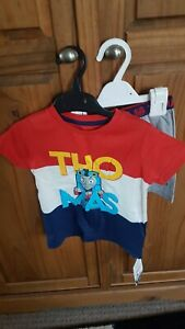 Boys Thomas The Tank Engine Short Pyjamas Age 18 Months - 2 Years From Marks And