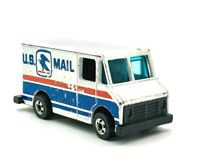 RARE 1976 Vintage HOT WHEELS Mattel HK 'US MAIL'  Delivery Mail Toy Truck
