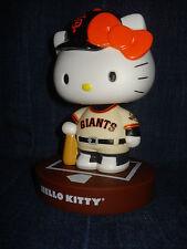 San Francisco Giants Hello Kitty Bobblehead SGA 6 28 2015 SF not gnome