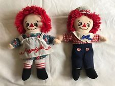 VINTAGE RAGGEDY ANN AND ANDY DOLLS - APPLAUSE