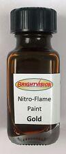 Brightvision Gold Nitro-Flame Redline Restoration and Custom Paint - Gold