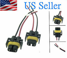 H11 H8 Female Adapter Wiring Harness Sockets Wire For Headlights or Fog Lights