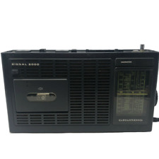 Grundig Signal 2000 Portable Radio - Turns On With Cassette Player
