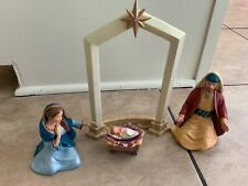 Hallmark The Holy Family Nativity Set 5 Piece Set 2005