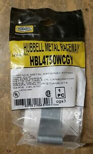 HUBBELL HBL4750WCGY METAL RACEWAY 1Z-1846-D3