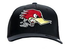 Men's Mr. Horsepower Black Classic Large Logo Flex Fit Fitted Hat H40 LG/XL