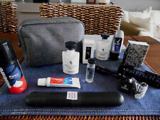 Emirates Business Class BVLGARI amenity KIT Washbag TROUSSE NECESER Cultura Sacchetto