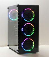 GAMING PC RGB AMD A8-7670K QUAD 3.6GHz 240GB SSD 16GB DDR3 1600MHz 4GB GTX 1650