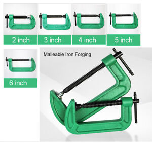 G Clip Iron Clip Strength Wood Clip Clamp Fixture Woodworking Various sizes