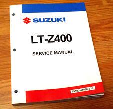 SUZUKI LTZ400 LTZ 400 Z400 ORIGINAL SHOP SERVICE REPAIR MANUAL BOOK 09-15