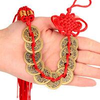 50 stk Chinesische Glücksmünzen Talisman Feng Shui Qing Dynasty s