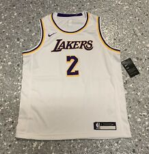 Lonzo Ball Los Angeles Lakers Nike Swingman Jersey Youth Large New With Tags